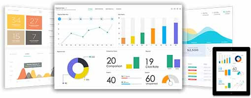Search analytics dashboard